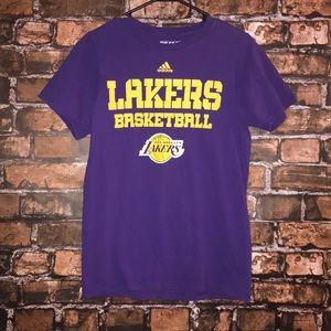 The Go To Tee Adidas Lakers Basketball
